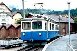 Rigi Bahnen - Arth-Rigi-Bahnen (ARB); 1987, Arth-Goldau