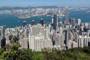 Hong Kong Island; Victoria Peak, Lugard Road